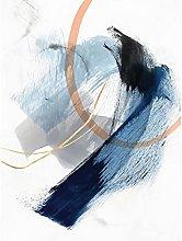 DAMAIJ Canvas Poster Ink Wash Abstract Decoration