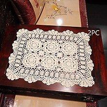 Damanni 15 Inch by 19 Inch Rectangular Cotton