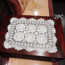 Damanni 16 Inch by 19 Inch Rectangular Cotton