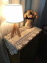 Damanni Oval Cotton Handmade Crochet Lace Table
