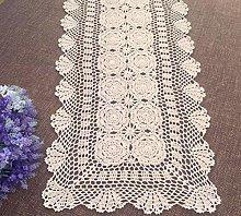 Damanni Rectangular Cotton Handmade Crochet Lace