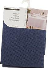 Damask Tablecloth Symple Stuff Colour: Blue,