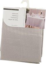 Damask Tablecloth Symple Stuff Colour: Grey,