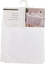 Damask Tablecloth Symple Stuff Colour: White,