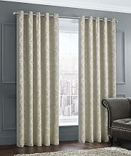 Damask Textured Embossed Thermal Dimout Window