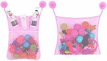 Damen Bath Toy Organizer, 2pcs Mesh Bathtub Toy