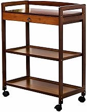 Damian-Sewing Kitchen Carts On Wheels 3- Tier
