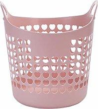 DANDANdianzi Plastic Laundry Clothes Basket Dirty