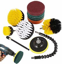 Dandelionsky 13Peices Drill Brush Attachment Kit,