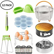 Dandelionsky Instant Pot Accessories Set, 12 Pcs
