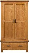 Dandrea 2 Door Wardrobe Union Rustic
