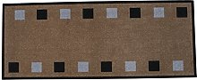 Dandy 2380 Kitchen Runner 120x50 Squares, Tufted