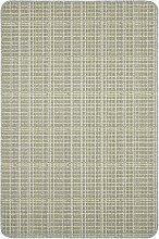 Dandy Warren Short Pile Rug - 150x100cm - Grey Lime