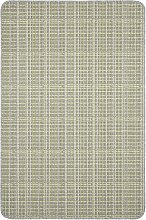 Dandy Warren Washable Rug - 150x100cm - Grey Lime