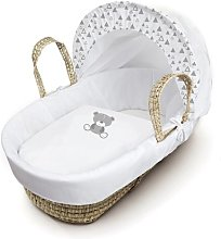 Dane Moses Basket with Bedding and Stand HoneyBee