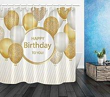 dangfeipeng Balloons Happy Birthday Bathroom Hooks