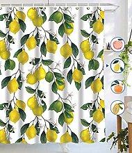 dangfeipeng Shower Curtains, Allover Fruits Shower