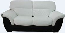 Daniel 2 Seater Italian Leather Contemporary Sofa