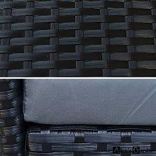 Danis 4 Seater Rattan Sofa Set Sol 72 Outdoor