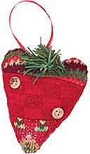 DANSHEN Christmas tree fireplace hanging ornaments
