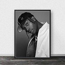 danyangshop Asap Rocky Print Poster Rapper Poster