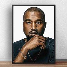 danyangshop Kanye West Music Singer Rapper Poster