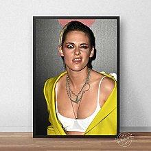 danyangshop Kristen Stewart Poster Print On Canvas