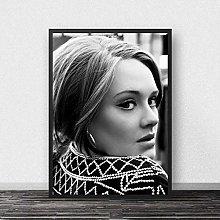 danyangshop Print On Canvas Adele Poster Music