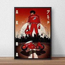danyangshop Print On Canvas Akira Poster Classic