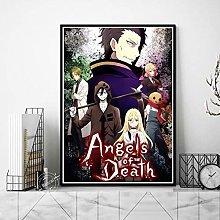 danyangshop Print On Canvas Angels Of Death Poster