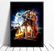 danyangshop Print On Canvas Back To The Future