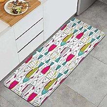 DAOPUDA Anti-fatigue kitchen mat non-slip