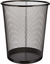 DaoRier Metal Mesh Waste Bin Trash Can Dustbin