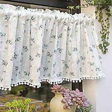 Daoyuan Tier Curtain Short Curtain Made of Lace in