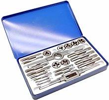Dapetz ® 23Pc Bsw Alloy Steel Whitworth Tap and