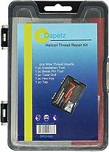 Dapetz ® 25 Piece Helicoil Thread Repair Kit M8 x