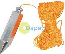 Dapetz ® Plumb Bob & Line 113G Verticle Building