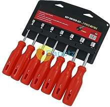 Daptez ® 7Pc Nut Driver Spinner Tool Set 6 Point