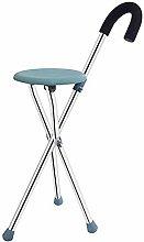 DAQUANTOU Convenience Cane Chair Walker Non-Slip