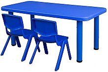 DAQUANTOU Kids Rectangular Table for up to 6