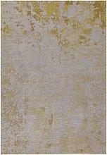 Dara Yellow Abstract Indoor/Outdoor Rug - 290x200cm