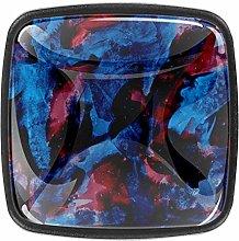 Dark 4pcs Colorful Crystal Glass Cupboard Wardrobe