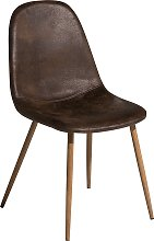 Dark Brown Dining Chairs BRUCE