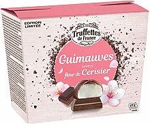 Dark Chocolate Coated Marshmallows with Cherry