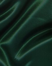 Dark Green/Bottle Green Polyester Silky Satin