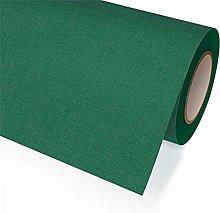Dark Green Fabric Tablecloth Roll 1.18 x 25 m
