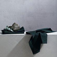Dark Green Napkin – Set of 4, Green, One Size