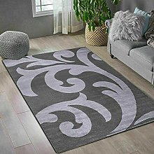 Dark Grey Home Decor Large Area Rug Living Room