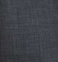 Dark Grey Linen Look Texture Upholstery Curtain