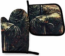 Dark Souls Oven Mitts and Pot Holders Sets Hanging
